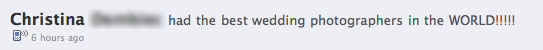 christina facebook best wedding photographers