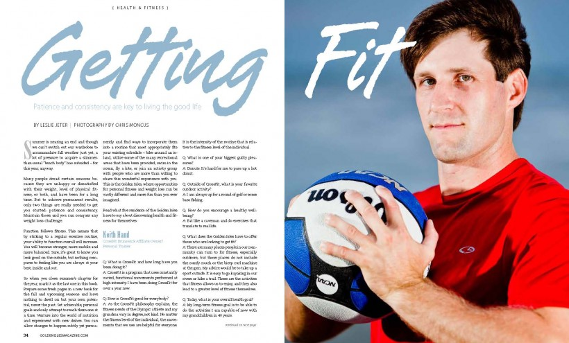GIM 34 37 Page 1 820x495 Getting Fit: Golden Isles Magazine Article Photoshoot