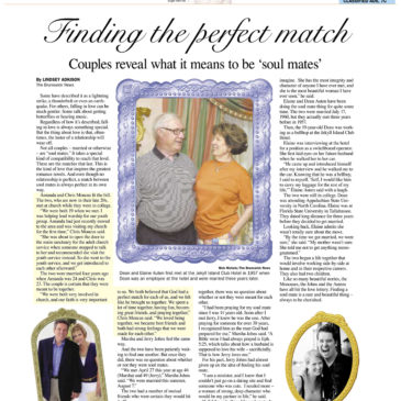 Brunswick News Article Chris Moncus Amanda Moncus