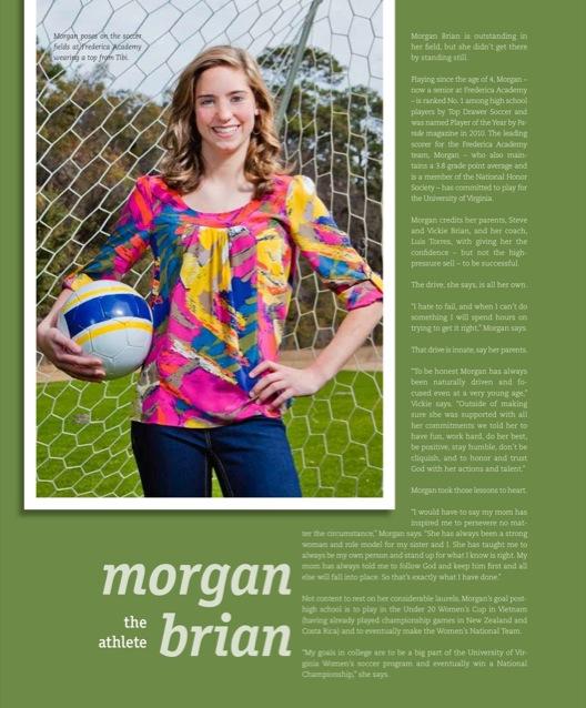 Golden Isles Magazine March April 2011  - Morgan Brian