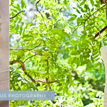 Cotton B and Raw Silk Wedding Dress. Megan Griswell and Ryan Phillips Wedding in Mitchell GA