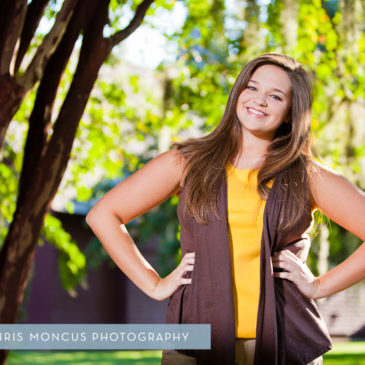 Jekyll Island Senior Portrait Session at Driftwood Beach and Historic District (1)