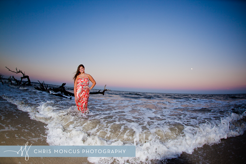 Jekyll Island Senior Portrait Session at Driftwood Beach and Historic District (14)