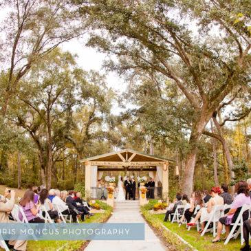 Beautiful outdoor Wedding in Tampa, FL - Chris Moncus Photography
