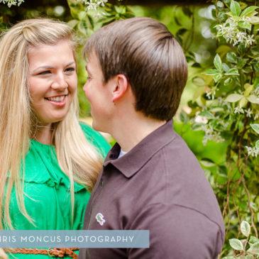 Statesboro Engagement Photographer Georgia Southern University Botanical Gardens