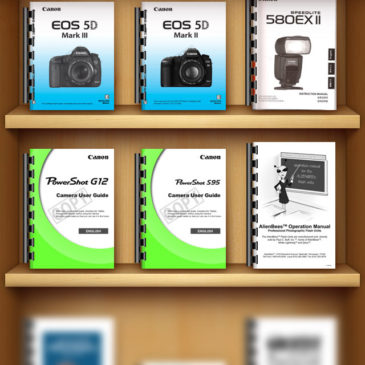 Keep Camera Manuals on Your Phone